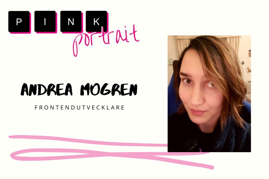 Andrea Mogren Pink Portrait