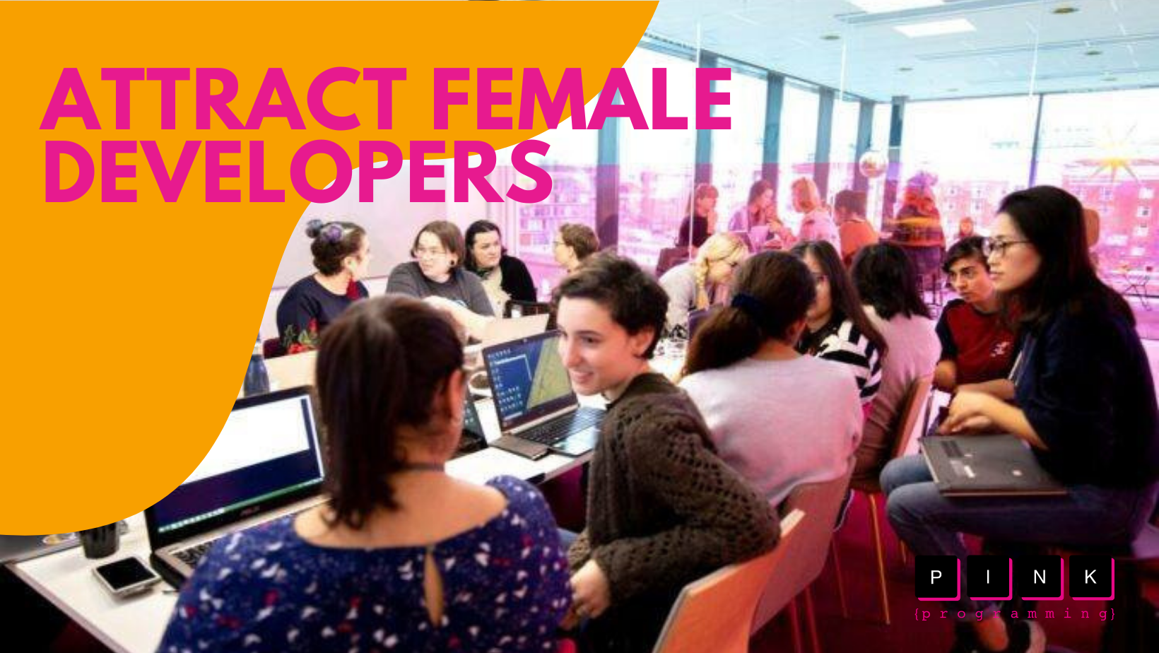 Attract female developers